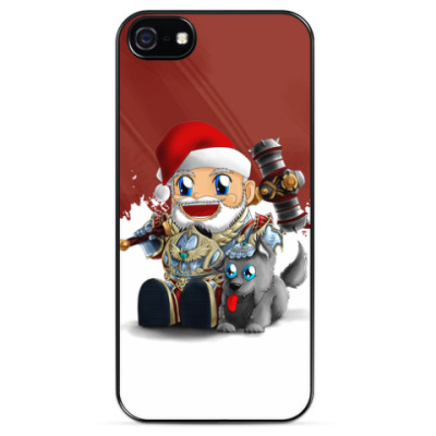 Чехол для iPhone Santa dwarf
