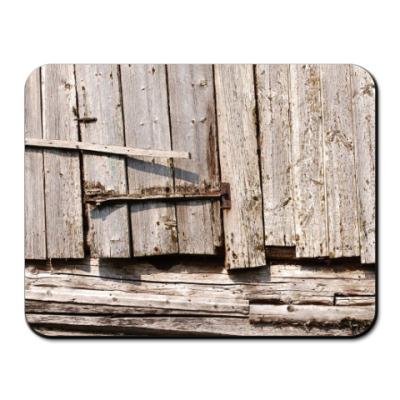 Коврик для мыши старые доски