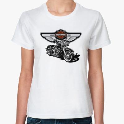 Классическая футболка Harley-Davidson - Харли-Дэвидсон