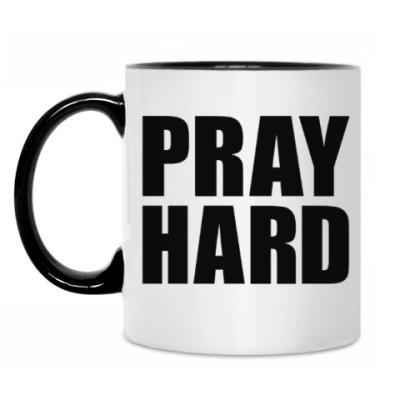 Кружка Pray Hard