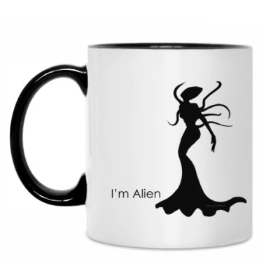 Кружка I'm Alien