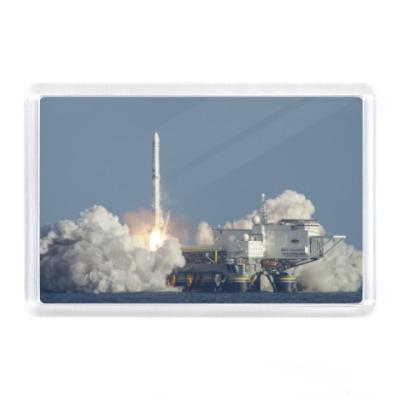 Магнит Запуск ракеты