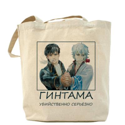 Сумка Холщовая сумка Гинтама