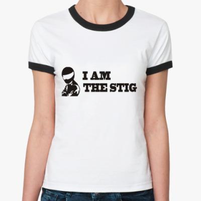 Женская футболка Ringer-T Я стиг