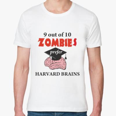 Футболка из органик-хлопка Harvard brains