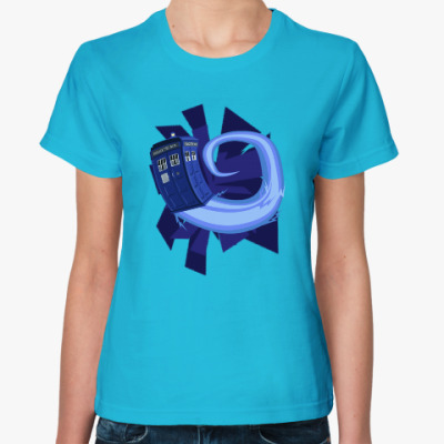Женская футболка Tardis, Doctor Who
