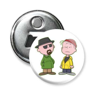 Магнит-открывашка Walter & Jesse