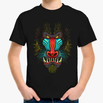 Детская футболка Бабуин