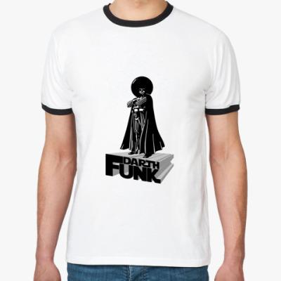 Футболка Ringer-T  Darth Funk
