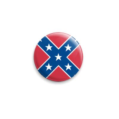 Значок 25мм The Confederacy