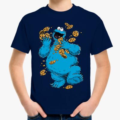Детская футболка Cookie Monster