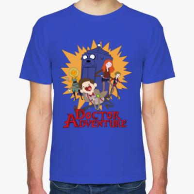 Футболка Doctor Adventure Time