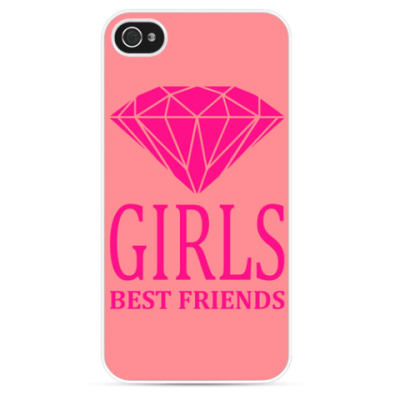 Чехол для iPhone Girls Best Friends