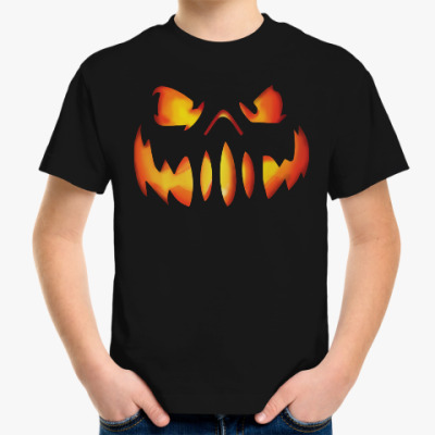 Детская футболка Тыква
