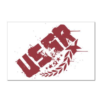 Наклейка (стикер) USSR