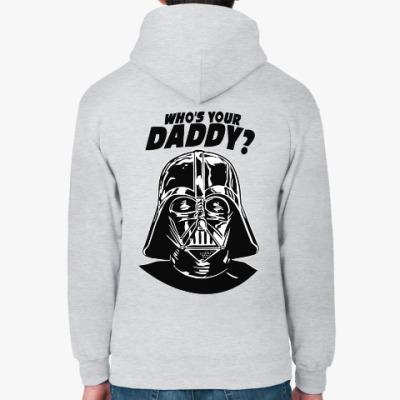 Толстовка худи Who's Your Daddy?