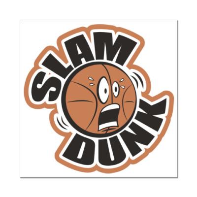 Наклейка (стикер) Slam Dunk
