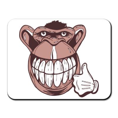 Коврик для мыши Веселая обезьяна