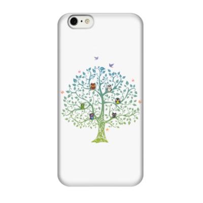 Чехол для iPhone 6/6s Совы на дереве