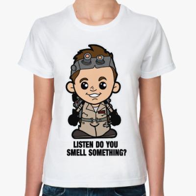 Классическая футболка Охотники за привидениями