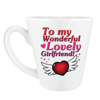 Чашка Латте Для моей девушки