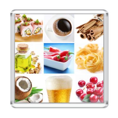 Магнит  Food Collage3