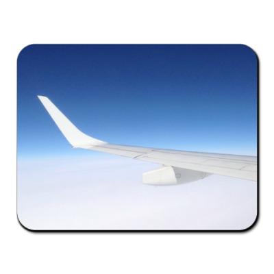 Коврик для мыши Крыло самолета