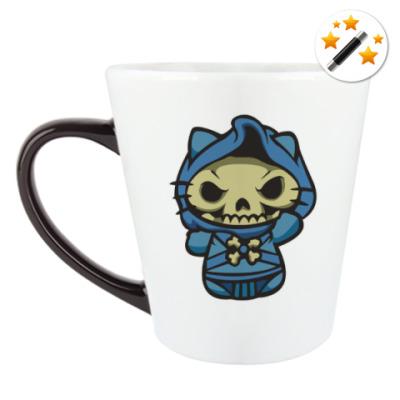 Кружка-хамелеон Kitty Скелетор
