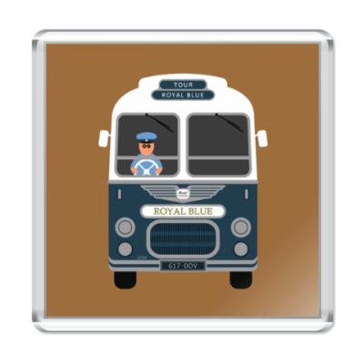 Магнит Royal Blue Coach