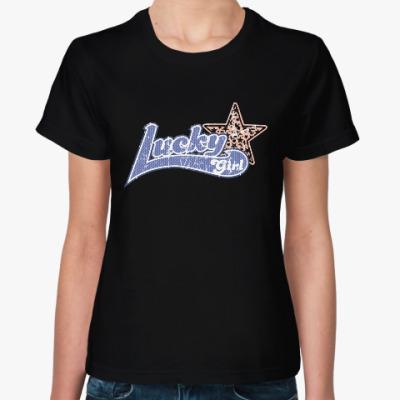Женская футболка Lucky Girl