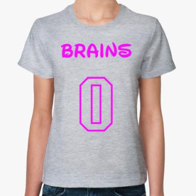 Женская футболка Zero Brains