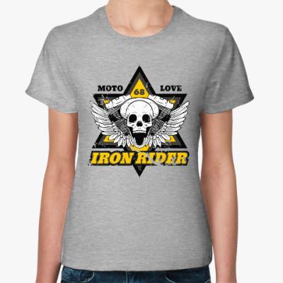 Женская футболка Iron Rider