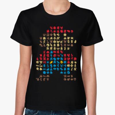 Женская футболка Супер марио 30 лет