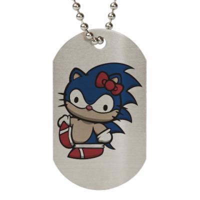 Жетон dog-tag Kitty Sonic