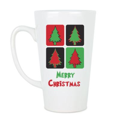 Чашка Латте Christmas