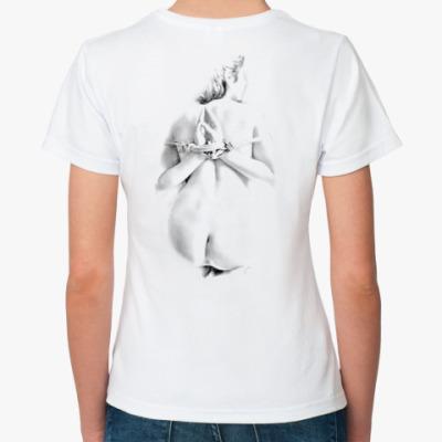 Классическая футболка  Handsback
