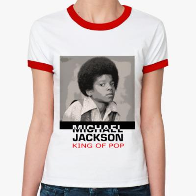 Женская футболка Ringer-T Jackson3