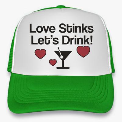 Кепка-тракер Love Stinks