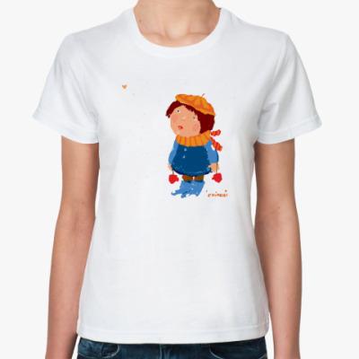 Классическая футболка  'Валентина'