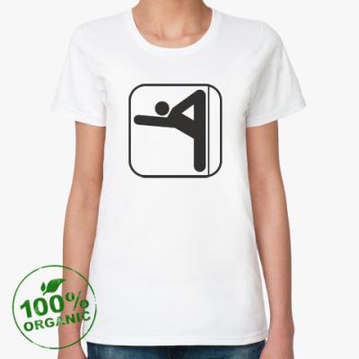 Женская футболка из органик-хлопка Пилон