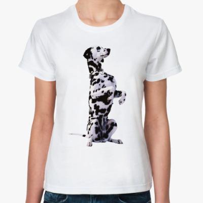 Классическая футболка Далматинец