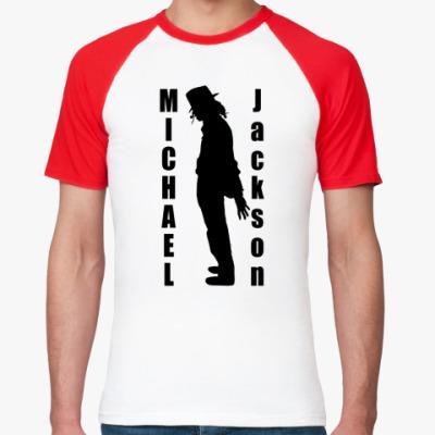 Футболка реглан Michael Jackson