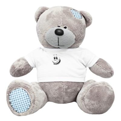 Плюшевый мишка Тедди Смайл улыбается