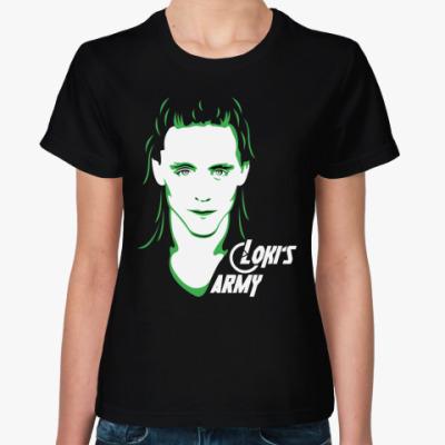 Женская футболка Мстители . Армия Локи