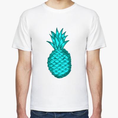 Футболка Зеленый ананас