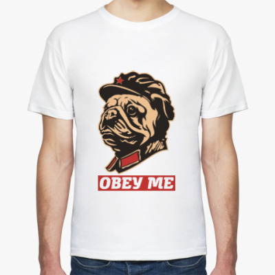 Футболка Obey the kitty