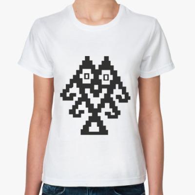 Классическая футболка  'Робот'