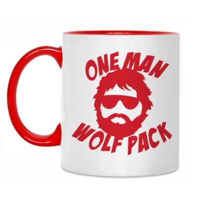 Кружка Человек-волчья стая