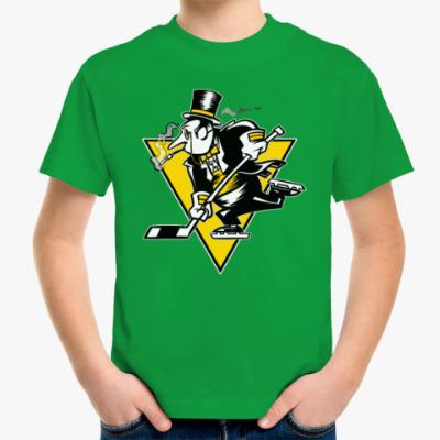 Детская футболка Go Penguins