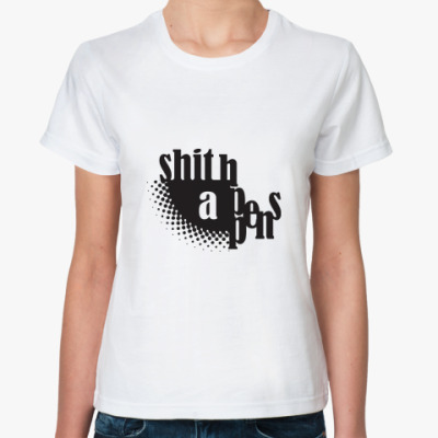 Классическая футболка Shit Happens
